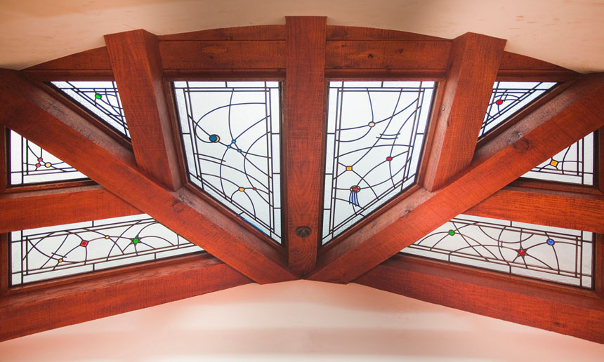 Architectural leaded glass skylights and ceilings by c for Architectural skylights